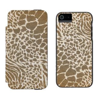 Animal Print iPhone5 Wallet Case Incipio Watson™ iPhone 5 Wallet Case