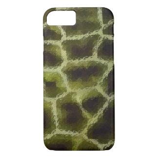 Animal Print Olive Green iPhone 8/7 Case