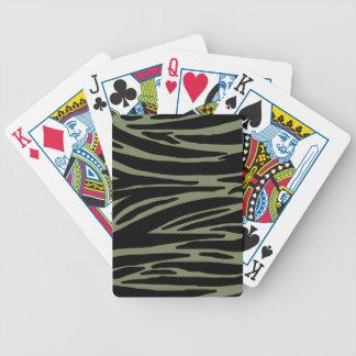 Animal Print Playing Cards