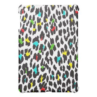 Animal Print, Spotted Leopard - Yellow Blue Green Case For The iPad Mini