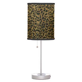 Animal Print Table Lamp
