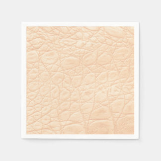 Animal Print Texture in Pink! Classic + Modern Disposable Napkins