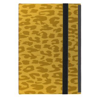 Animal print texture of leopard cover for iPad mini