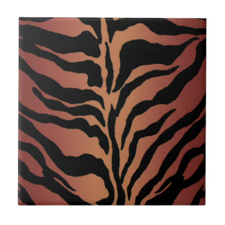 Animal Print Tiger Striped Home Decor Tile