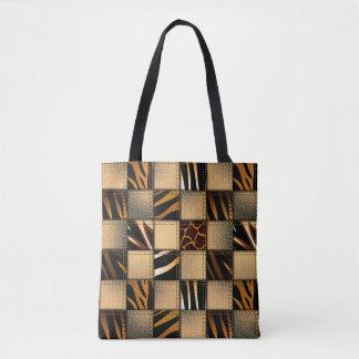 Animal Print Tote bags