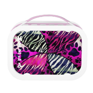 Animal Print YUBO lunchbox