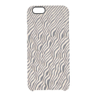 Animal Print - Zebra- Clearly™ Iphone Case