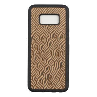 Animal Print - Zebra - Galaxy S8 Wood Case