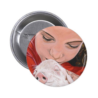 Animal Protector 2 Inch Round Button