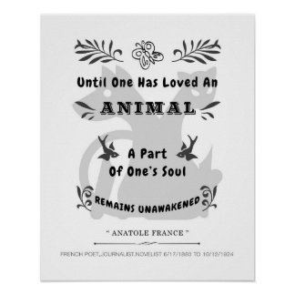 Animal Quote Poster
