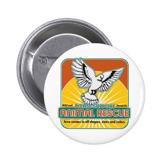 Animal Rescue Bird Buttons