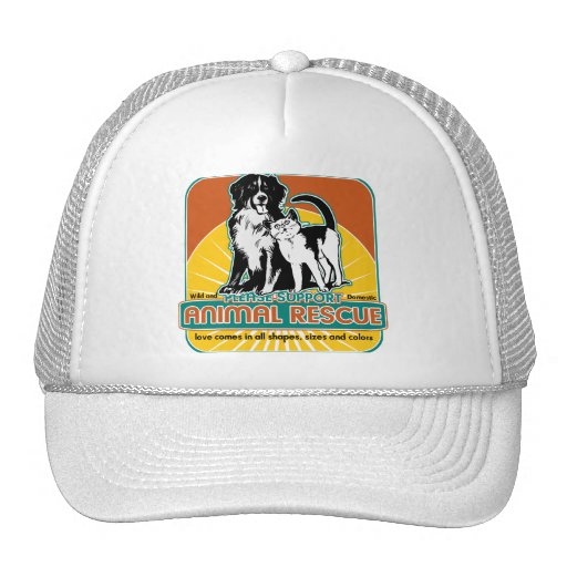 Animal Rescue Dog and Cat Trucker Hat