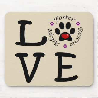 Animal Rescue Love Mousepad