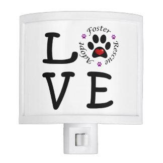 Animal Rescue Love Night Light