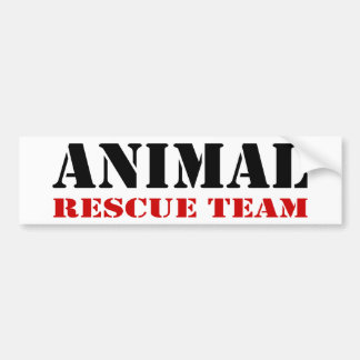 Animal Rescue Team Bumper Sticker