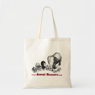 Animal Rescuers Tote Bag