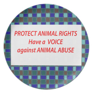 Animal Rights-Healty Living Habitat in Wild being Dinner Plate