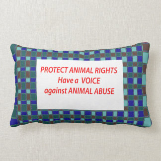 Animal Rights-Healty Living Habitat in Wild being Throw Pillow