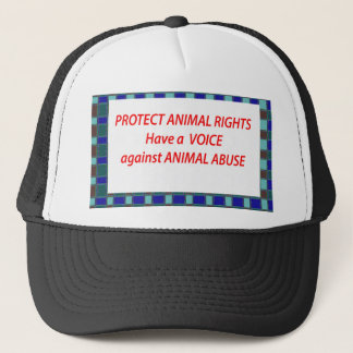 Animal Rights-Healty Living Habitat in Wild being Trucker Hat