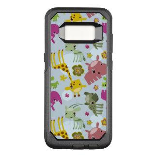 animal safari pattern OtterBox commuter samsung galaxy s8 case
