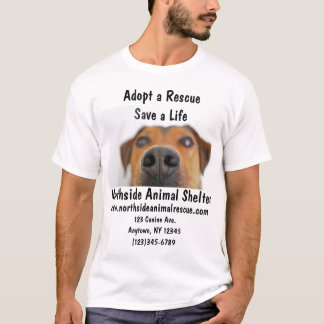 Animal Shelter Adopt A Pet Rescue Center Shirt