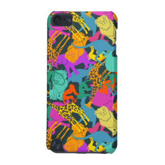 Animal Silhouettes Pattern iPod Touch 5G Case