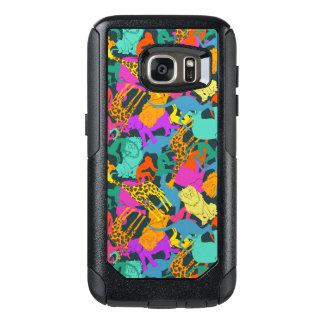 Animal Silhouettes Pattern OtterBox Samsung Galaxy S7 Case