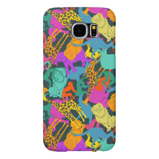 Animal Silhouettes Pattern Samsung Galaxy S6 Cases