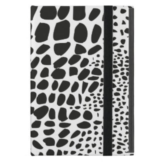 Animal Skin in Black and White Cover For iPad Mini