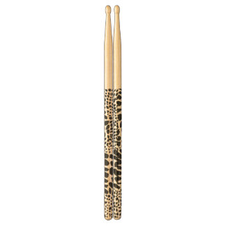 Animal Skin in Black and White Drum Sticks