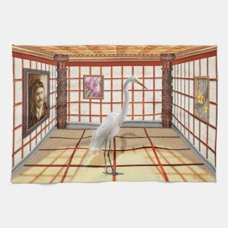 Animal - The Egret Kitchen Towel