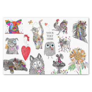 Animal Tissue Paper (You can Customize)