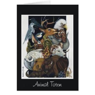 Animal Totem Card