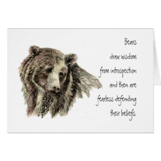Animal Totem, Spiritual, Inspiration Encouragement Card