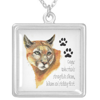 Animal Totems, Encouragment and Inspiration Silver Plated Necklace