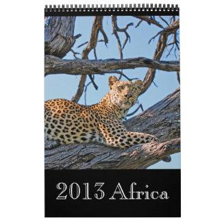 Animal wild Africa 2013 (ANY YEAR) Calendars