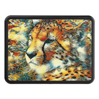 AnimalArt_Cheetah_20170603_by_JAMColors Trailer Hitch Cover