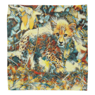 AnimalArt_Cheetah_20171003_by_JAMColors Bandana