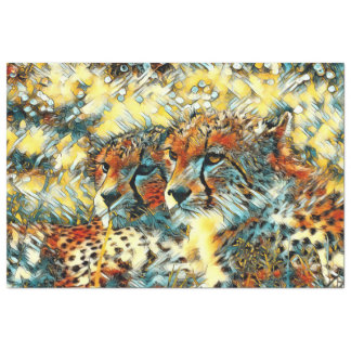 AnimalArt_Cheetah_20171004_by_JAMColors Tissue Paper