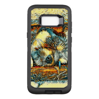 AnimalArt_Dog_20170906_by_JAMColors OtterBox Defender Samsung Galaxy S8+ Case
