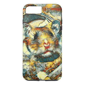 AnimalArt_Hamster_20170902_by_JAMColors iPhone 8 Plus/7 Plus Case