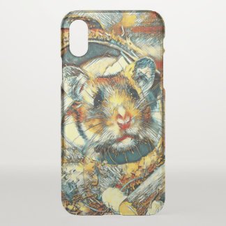 AnimalArt_Hamster_20170902_by_JAMColors iPhone X Case