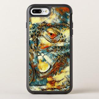 AnimalArt_Iguana_20170901_by_JAMColors OtterBox Symmetry iPhone 8 Plus/7 Plus Case