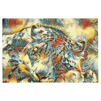 AnimalArt_Leopard_20170605_by_JAMColors Doormat
