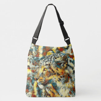 AnimalArt_Leopard_20170606_by_JAMColors Crossbody Bag