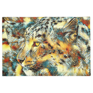 AnimalArt_Leopard_20170606_by_JAMColors Doormat