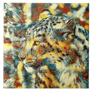 AnimalArt_Leopard_20170606_by_JAMColors Tile
