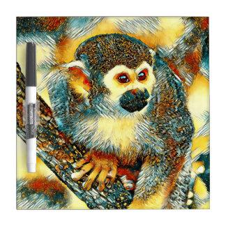 AnimalArt_Monkey_20170601_by_JAMColors Dry Erase Board