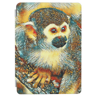 AnimalArt_Monkey_20170601_by_JAMColors iPad Air Cover