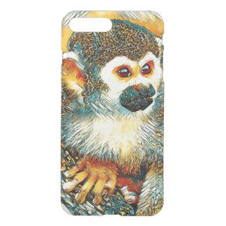 AnimalArt_Monkey_20170601_by_JAMColors iPhone 8 Plus/7 Plus Case